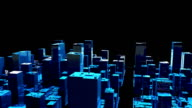 Skyscrapers & City Animation HD