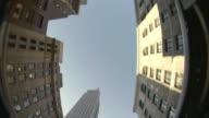 MS LA FISH EYE Skyscrapers of midtown Manhattan / New York City, New York, USA