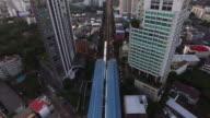 BTS Skytrain, Bangkok, Thailand by Drone