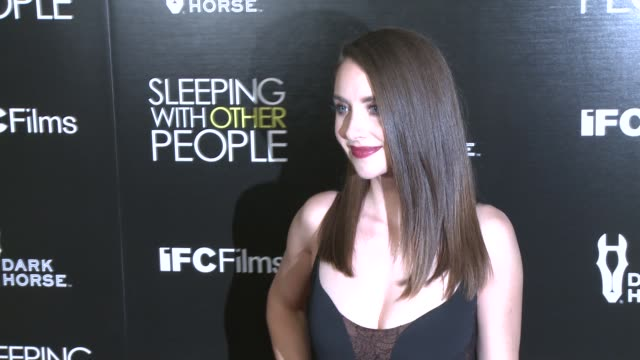 CLEAN 'Sleeping With Other People' Los Angeles Premiere at ArcLight Cinemas on September 09 2015 in Hollywood California