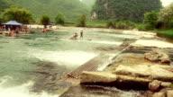 Sleepy chinesische river