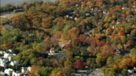 Sleepy Hollow And Mill Pond - Aerial View - New York,  Westchester County,  United States