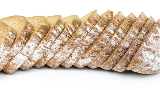 Sliced brown bread (4k)