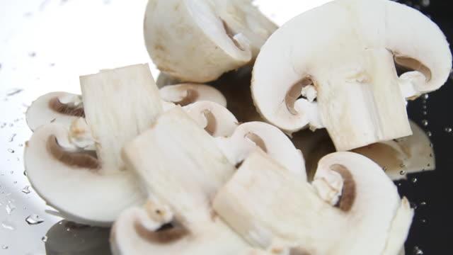 Sliced mushrooms - HD, loopable