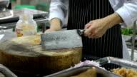 Slicing Pickle turnip