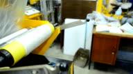 slide view panning: fabricate blown film  by extruder machine