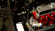 slider shot of Mini Moke engine
