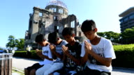 A slideshow of photographs and video footage taken on Aug 6 Japanshow Hiroshima as residents and visitors alike marked the 72nd year since the city's...