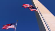 HD SloMo American Flags LA1 (720/24P)