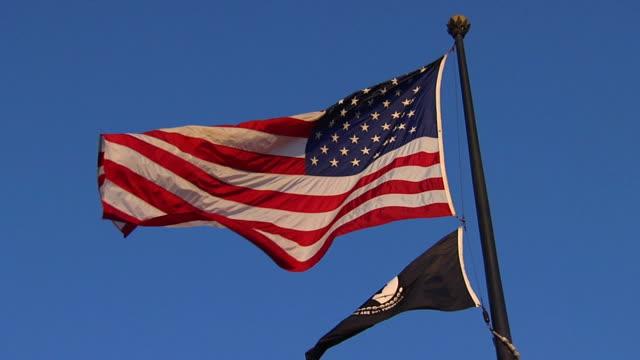 SloMo American MIA flags_la1 HD (720/24P