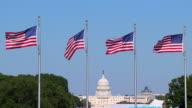 HD SloMo US Capital Flags_3 (720/24P)