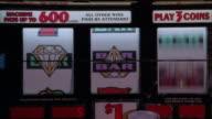 ECU Slot machine wheels / Las Vegas, Nevada, USA