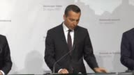 Slovak Prime Minister Robert Fico French President Emmanuel Macron Austrian Chancellor Christian Kern and Czech Prime Minister Bohuslav Sobotka...