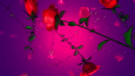 Slow Falling Red Roses (Loopable)
