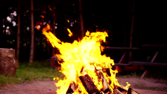 Slow mo: Bonfire