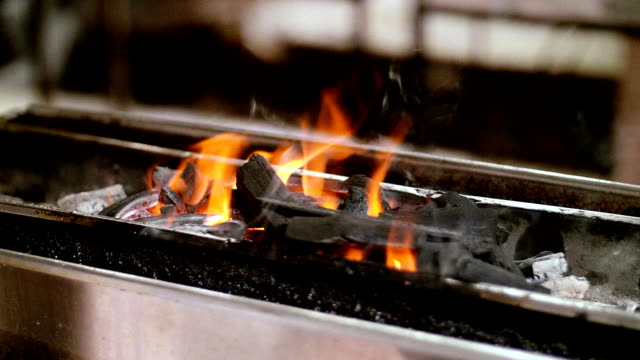 Slow Motion : Fire Flames