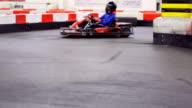 Slow motion: Gocarting
