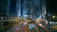 Slow motion :Hongkong Crossroad
