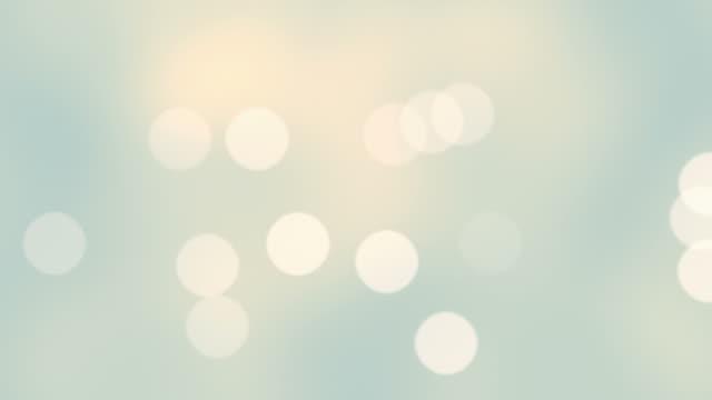 Zeitlupe Endlos wiederholbar schwimmenden Partikel in voll-HD.