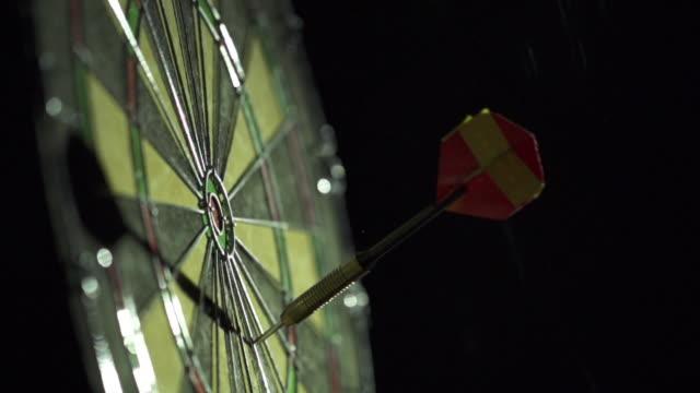 Slow Motion of Dart Game