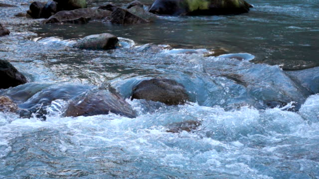 Slow Motion Shot of Water stream