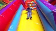 Slow motion: Trampoline fun