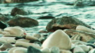Slow Motion Waves On Pebbles - Seamlessly Loopable