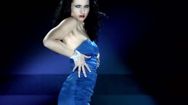 HD Slow Motion: Woman Dancing Sensually And Seductively
