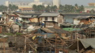 Slum in Manila Philippines