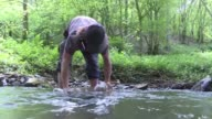 Smack in the center of France one prospector has stumbled upon a jackpot an quiet stream brimming with saphires