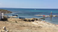 A small beach in Portopalo di Capo Passero, Sicily