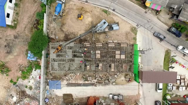 small construction site