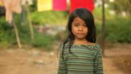 Small girl in Cambodia