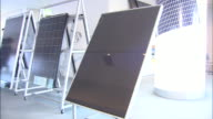 Small rectangles mark the surface of a solar panel