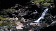 Small Tropical Waterfall