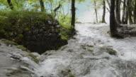 MS Small waterfall in National park / Plitvice, Lika-Senj, Croatia