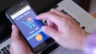 Smart phone shopping online
