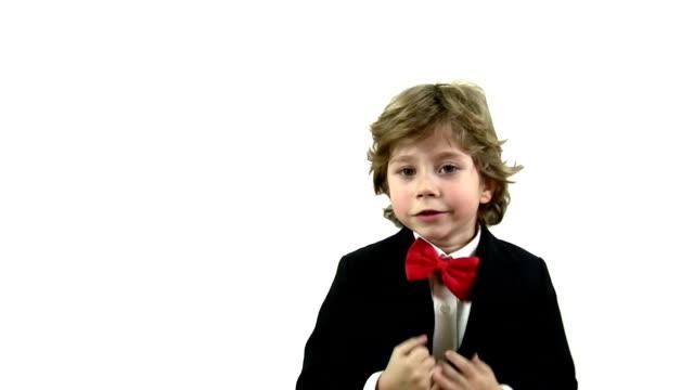 Smiling Little Boy Portrait
