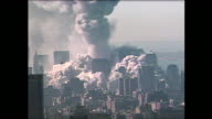 Smoke billows from the Pentagon shortly after the attacks on 9/11