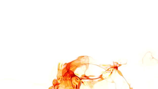 Rauch Effekt auf weißem Hintergrund