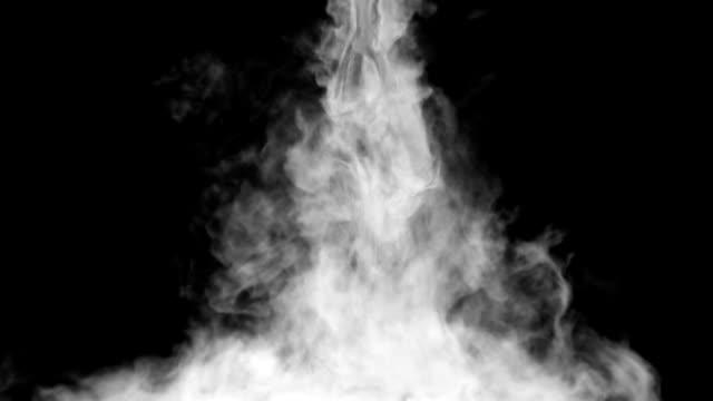 Smoke falling down