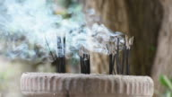 smoke of incense