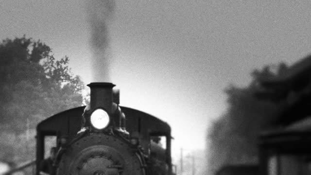 Schornstein der Dampflokomotive