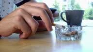 Smoking and chatting