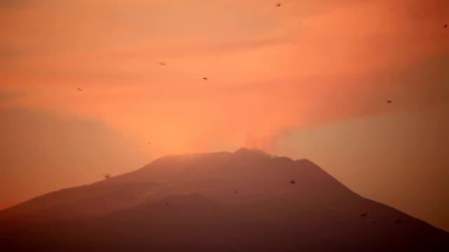 Smoking Mt. Etna