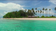 'Smooth, clear shot of a beautiful desert island in South East Asia'
