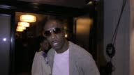 B Smoove talks about Curb Your Enthusiasm back on TV outside Craig's Restaurant in West Hollywood in Celebrity Sightings in Los Angeles