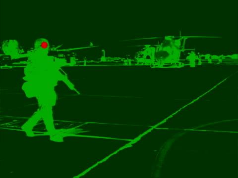 Cecchino attacco soldati