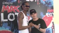 Snoop Dogg and Richard Speight Jr at the Snoop Dogg's Funk n Soul Extravaganza presented by Pepsi MAX at 2011 SXSW Music and Film Festival at Austin...