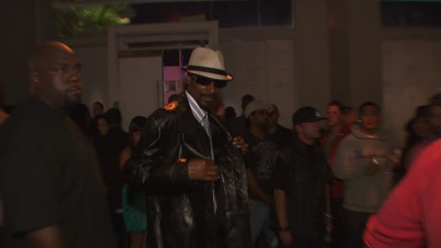 Snoop Dogg at the David Beckham And James Bond Launch adidas Originals By Originals Line at Los Angeles CA